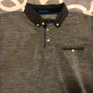 Men's collar shirt